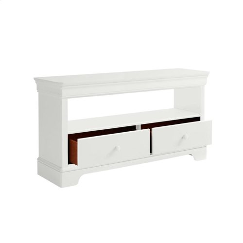 Teaberry Lane Stardust Low Bookcase