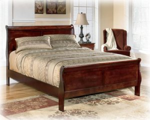 Alisdair - Dark Brown 2 Piece Bed Set (Cal King)