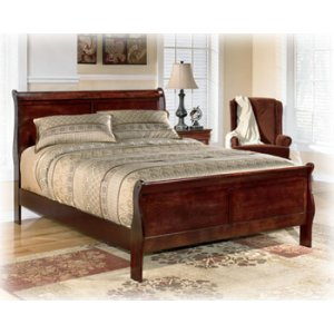 Ashley Furniture Alisdair - Dark Brown 2 Piece Bed Set (Cal King)