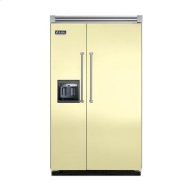 """Lemonade 48"""" Side-by-Side Refrigerator/Freezer with Dispenser - VISB (Integrated Installation)"""