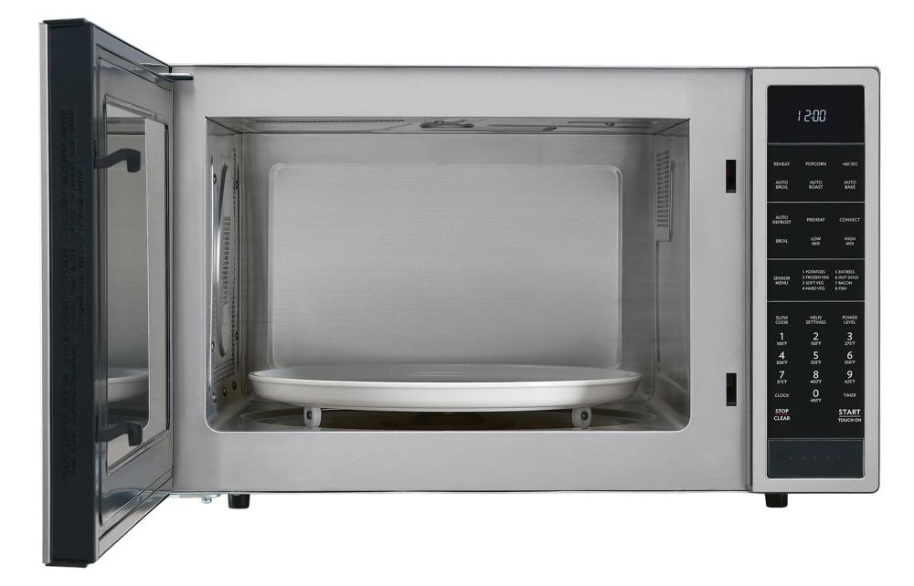 Ft 900w Sharp Stainless Steel Carousel Convection Microwave Smc1585bs