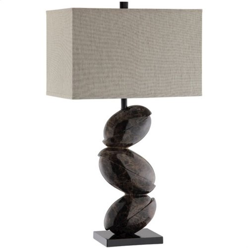 Tobin Stacked Rock Lamp