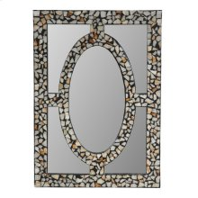 STONE INLAID MIRROR