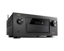 9.2 Channel Full 4K Ultra HD AV Receiver with 11.2 channel processing, Wi-Fi, Bluetooth ® , Dolby Atmos, DTS:X, HDCP2.2/HDR, MultEQ XT32, 8/3 HDMI In/Out, AL32 Multi, L/R Symmetrical Monolithic Amplifier Design