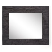 Dark Carbon Finish Caminito Rectangular Mirror