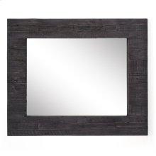 Dark Carbon Finish Caminito Rectangular Mirror