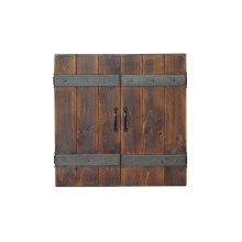 Dart Board Cabinet