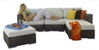 Atlantis 5 PC Sectional Set Deep Seating Group Product Image