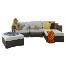Atlantis 5 PC Sectional Set Deep Seating Group