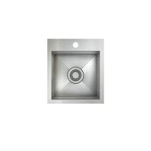 ProInox H0 Single Bowl Topmount Prep/Bar Kitchen Sink ProInox H0 18-gauge Stainless Steel, 12'' x 12 '' x 8''