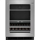 24-inch Under Counter Beverage Center, Euro-Style Stainless Knob Product Image