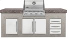 Built-In LEX 485 Stainless Steel Gas Grill Head Product Image