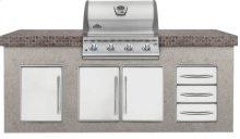 Built-In LEX 485 Stainless Steel Gas Grill Head