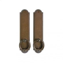 "Arched Passage Set - 2 1/2"" x 11"" Silicon Bronze Dark"