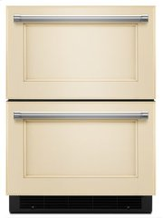 "24"" Panel Ready Double Refrigerator Drawer Product Image"