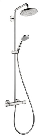 Chrome Showerpipe 220 1-Jet, 2.5 GPM Product Image