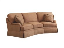 Wedge Sofa English with Skirt