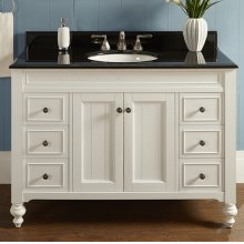 "Crosswinds 48"" Vanity - White"