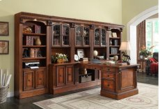 """32"""" Glass Bookcase Top Product Image"""
