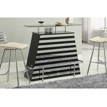 Mirror Stripes Bar Table