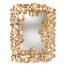 Baxton Studio Idalia Modern and Contemporary Antique Gold Finished Butterfly Accent Wall Mirror Product Image