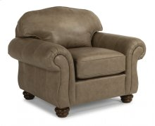 Bexley Leather Chair without Nailhead Trim