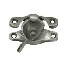 "Window Sash Lock, 1"" x 2 5/8"" - Antique Nickel"