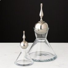 Finial Decanter-Nickel-Sm