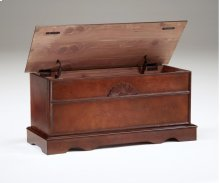 Cedar Box With Lid - Cherry