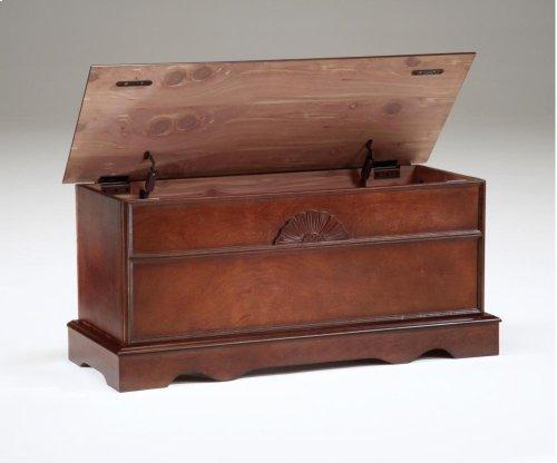 Cedar Box With Lid - Cherry