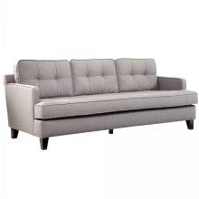Eden Sofa In Cement Gray Fabric