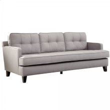 Eden Sofa In Cement Gray Fabric