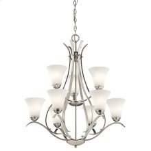 Keiran Collection Keiran 9 light Chandelier NI