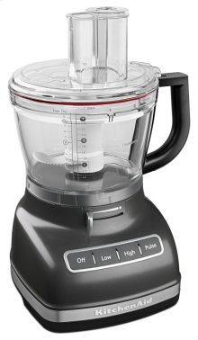 14-Cup Food Processor with Commercial-Style Dicing Kit - Slate