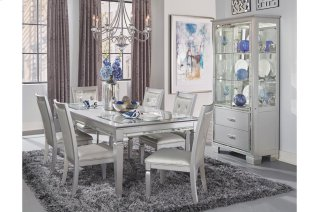 Allura Dining Table, Glass Insert