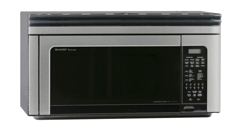Hidden Additional Sharp Carousel 1 Cu Ft 850w Stainless Steel Over The Range