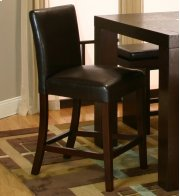 """Sunset Trading 24"""" Kemper Parson Stool in Espresso - Sunset Trading Product Image"""