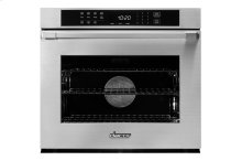 """Heritage 30"""" Single Wall Oven, Silver Stainless Steel, Flush handle"""
