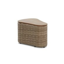 On & On Oval End Table