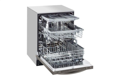 Top Control Smart wi-fi Enabled Dishwasher with QuadWash