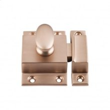 Cabinet Latch 2 Inch - Brushed Bronze