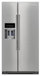 24.8 cu ft. Side-by-Side Refrigerator - Stainless Steel Product Image