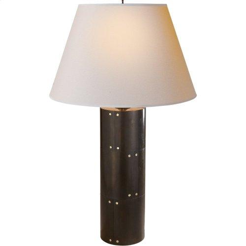Visual Comfort AH3034GM-NP Alexa Hampton Yul 30 inch 60 watt Gun Metal Decorative Table Lamp Portable Light