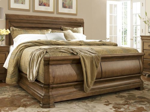 6 Piece Louie P's Sleigh Bedroom SET (King)