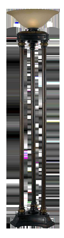 Colossus - 3 Pole Torchiere