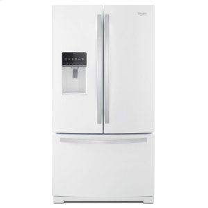 36-inch Wide French Door Bottom Freezer Refrigerator with StoreRight System - 27cu. ft. - WHITE ICE