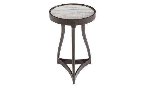 Geode Quartz Martini Table