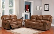 E2080 Howard Pwr Chair Ileather 177136lv Peanut Br