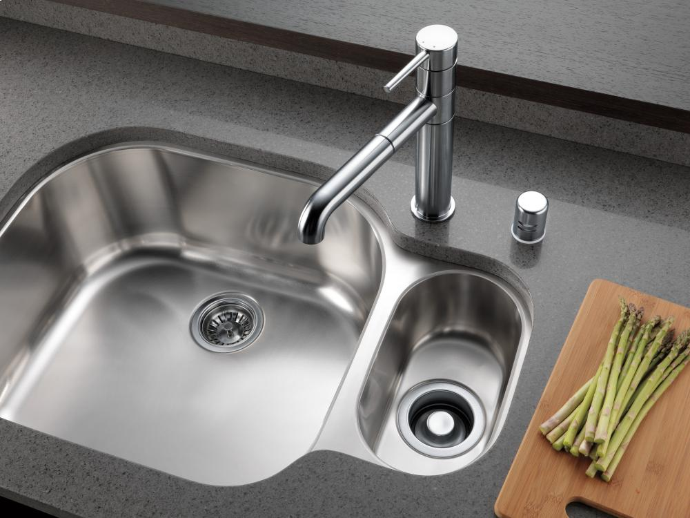 kitchen air gap dishwasher drain arctic stainless kitchen air gap 72020ar in by delta faucet company anaheim ca