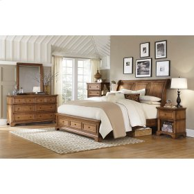 King/Cal King Bed Storage FB